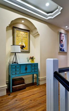 美式 混搭 三居 白领 收纳 80后 小资 欧式 复式 楼梯图片来自高度国际装饰宋增会在148平美式混搭复式 充满温馨惬意的分享