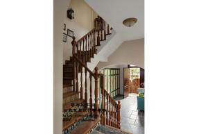 混搭 别墅 收纳 80后 小资 美式 个性 复式 楼梯图片来自合肥飞墨李秀玲设计在麋鹿原野的分享
