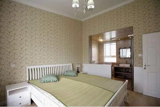简约 田园 地中海 三居 收纳 白领 旧房改造 80后 小资 卧室图片来自高度国际装饰宋增会在140平 地中海田园混搭美居的分享
