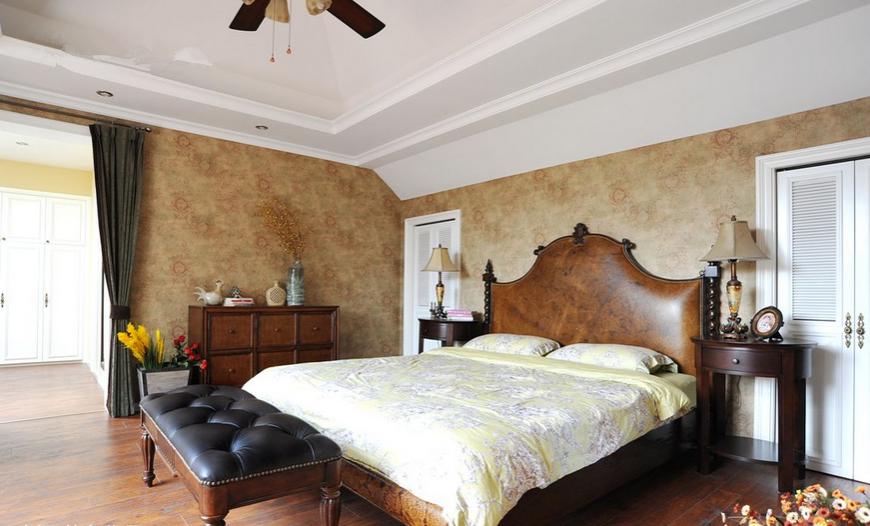 卧室图片来自超凡装饰邓赛威在怡丰森林湖260平混搭风格的分享