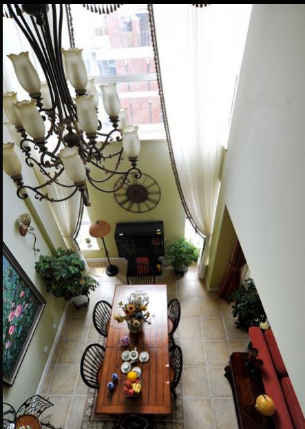 客厅图片来自超凡装饰邓赛威在怡丰森林湖260平混搭风格的分享