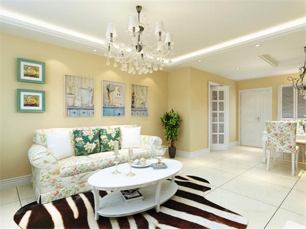 本次案例是亿城堂庭标准层两室户型2室2厅1卫1厨80㎡。本次案例设计的设计风格是田园风格。
