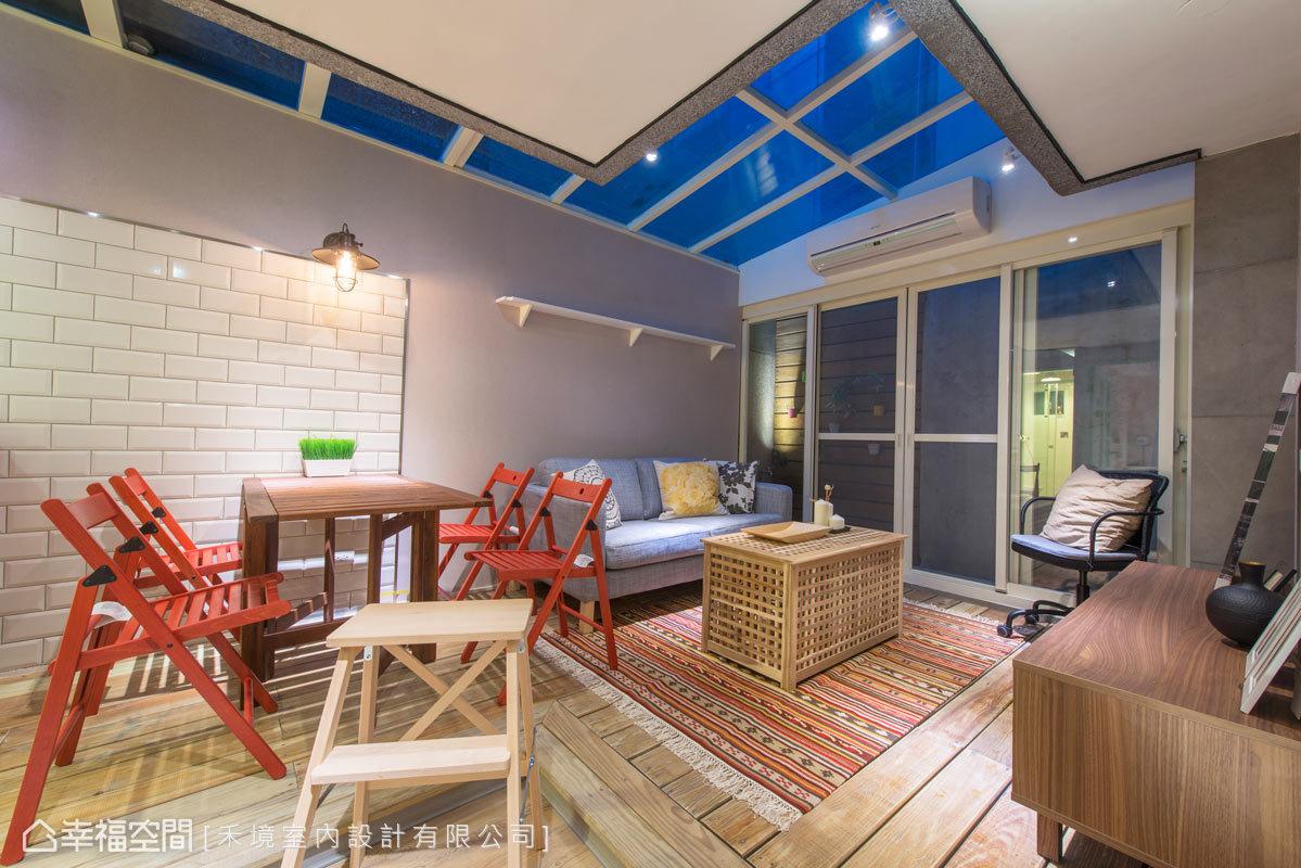 客厅图片来自幸福空间在56平打造北欧IKEA风尚的分享