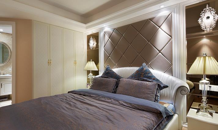 新古典 中式 时尚清新 富有品味 卧室图片来自佰辰生活装饰在150平新古典中式混搭家的分享