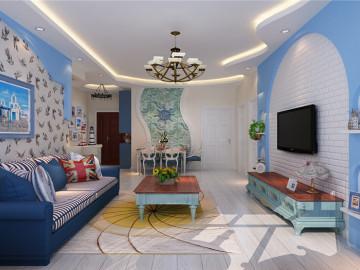 简约现代95㎡温馨典雅高品质家居