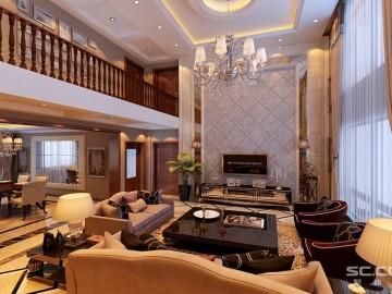 完美塑造欧式奢侈别墅