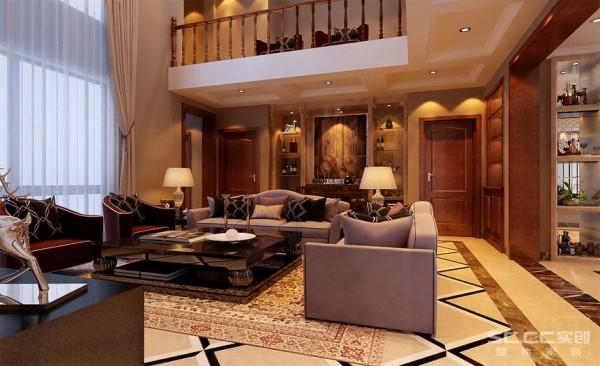 客厅设计: 少了富丽堂皇的装饰和浓烈的色彩,呈现的则是一片清新,典雅和大气并存的轻松空间