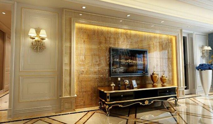 棕榈泉装修 棕榈泉设计 棕榈泉三期 天古装饰 欧式风格 新古典风 浪漫 客厅图片来自重庆天古装饰公司在棕榈泉装修设计-欧式浪漫新古典的分享