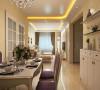 两居室简欧风格时尚与温馨并存