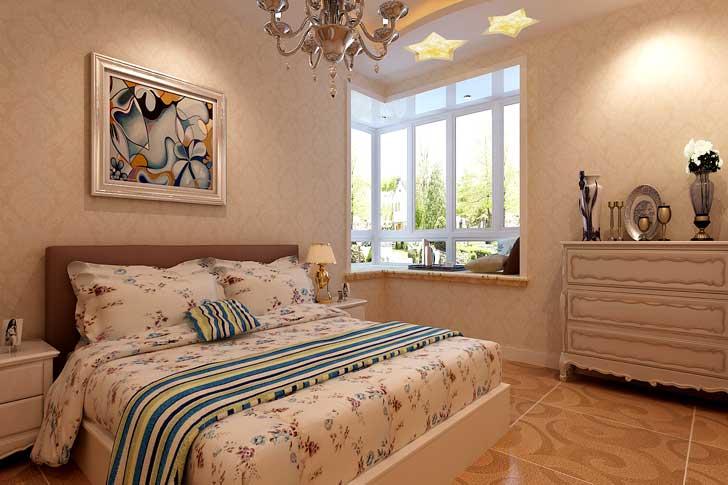 新古典风格 两居室 卧室图片来自长沙业之峰在案例效果的分享