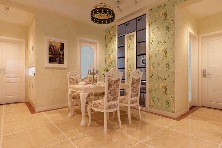 新古典风格 两居室 餐厅图片来自长沙业之峰在案例效果的分享