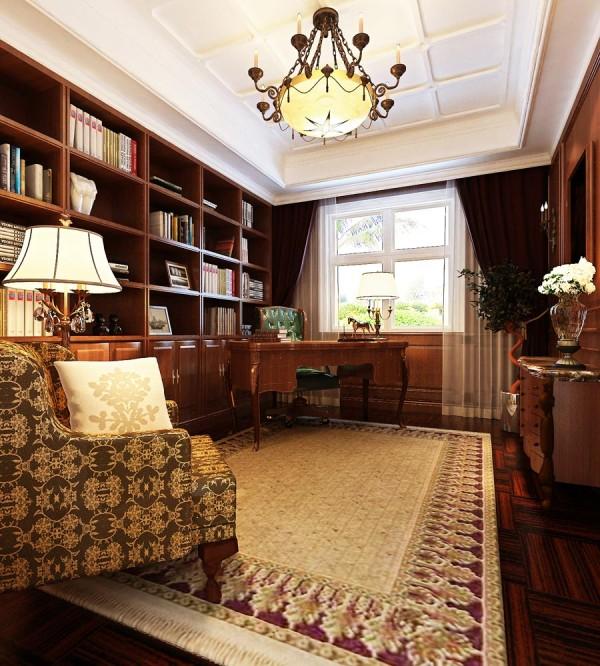 无论是家具还是配饰均以其优雅、唯美的姿态,平和而富有内涵的气韵,描绘出居室主人高雅、贵族之身份。常见的壁炉、水晶宫灯、罗马古柱亦是新古典风格的点睛之笔。
