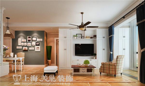 金域上郡120平3室2厅混搭风格装修效果图——电视背景墙