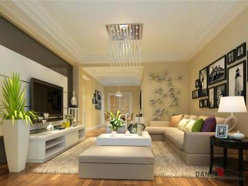清新自然随意的居室环境