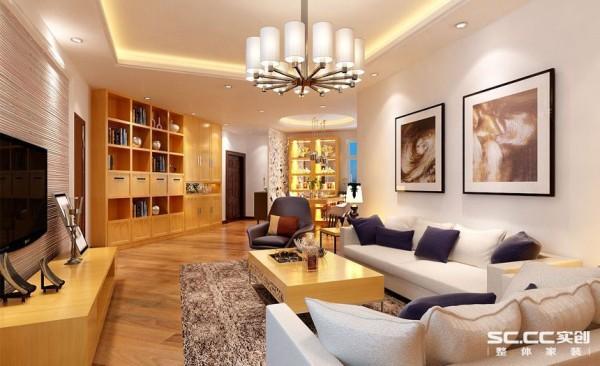 北欧风格浅淡的色彩、洁净的清爽感,让居家空间得以彻底降温,心情一下子沉静下来。背景墙采用很原生态的草编织技术 ,家具以原生态的木纹颜色使得空间温馨且不失现代时尚