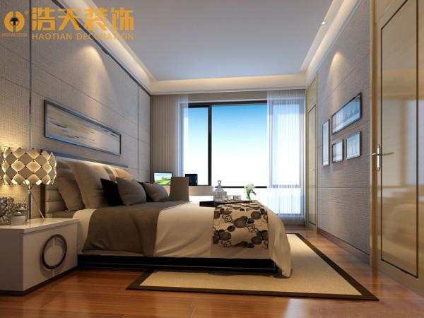 女儿房全屋还是以金属条勾勒为亮点,优美的线条体现着主人细腻的心思,米黄色的墙面增加了卧室的温馨的干净,让卧室成为一个时尚、清新而又温馨自由的空间。