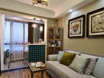 56平法式浪漫一室一厅