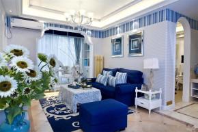 地中海 混搭 温馨 三居 8090 客厅图片来自朗润装饰工程有限公司在舒适温馨 地中海三居室的分享