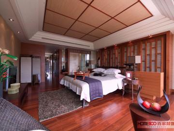 金地长青湾320平东南亚风格