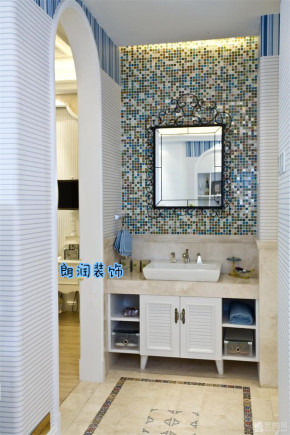 地中海 混搭 温馨 三居 8090 卫生间图片来自朗润装饰工程有限公司在舒适温馨 地中海三居室的分享