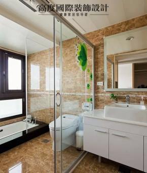 简约 现代 港式 二居 三居 混搭 白领 收纳 旧房改造 卫生间图片来自高度国际装饰宋增会在年轻夫妇打造125平现代港式新家的分享