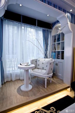 地中海 混搭 温馨 三居 8090 阳台图片来自朗润装饰工程有限公司在舒适温馨 地中海三居室的分享