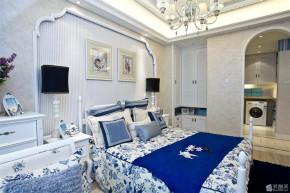 地中海 混搭 温馨 三居 8090 卧室图片来自朗润装饰工程有限公司在舒适温馨 地中海三居室的分享
