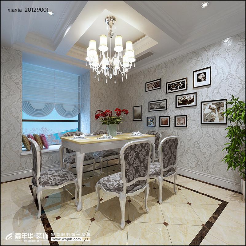 复式 英式 餐厅图片来自武汉嘉年华装饰在江夏小区的分享