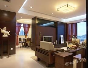 中式 三居 收纳 餐厅 客厅 卧室 书房 温馨 舒适 餐厅图片来自青岛德瑞意家装饰郭欣在新中式风格的经典展现两室两厅的分享