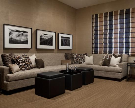客厅图片来自上海华埔装饰设计中心在明媚的美式田园的分享