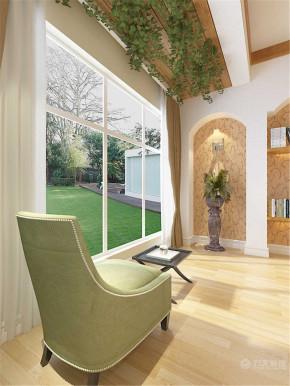 美式 三居 白领 收纳 80后 小资 阳台图片来自阳光力天装饰在富民河畔-168㎡-美式风格的分享