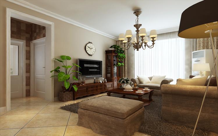 客厅图片来自多芬宝贝在贰号城邦90平美式的分享