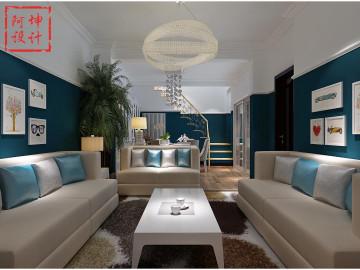 世贸诺沙湾别墅简单清新设计