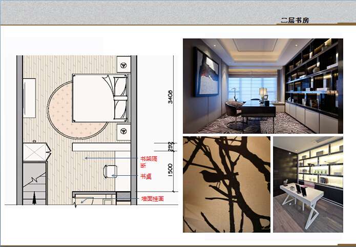 新古典 白领 80后 loft 设计经典 书房图片来自家百年装饰在中交江锦湾loft的分享