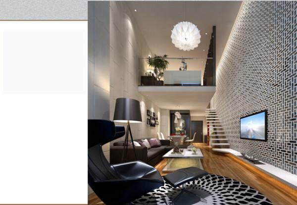 一楼客厅效果图
