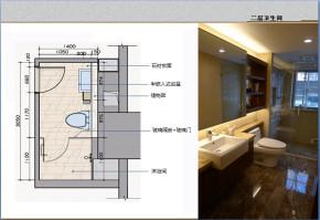 新古典 白领 80后 loft 设计经典 卫生间图片来自家百年装饰在中交江锦湾loft的分享