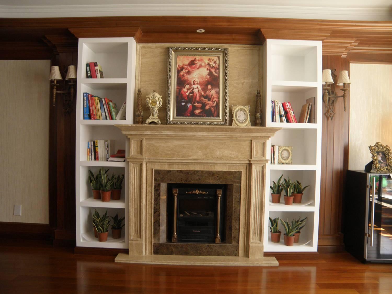 简约 欧式 混搭 白领 收纳 旧房改造 三居 书房图片来自设计师王璞在设计师王璞作品1的分享