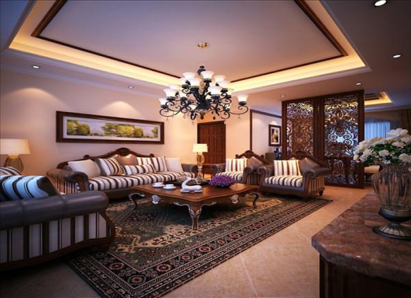 设计理念:在古典中带有一点随意,摒弃了过多的繁琐与奢华,兼具古典主义的优美造型与新古典主义的功能配备,既简洁明快,又温暖舒适。
