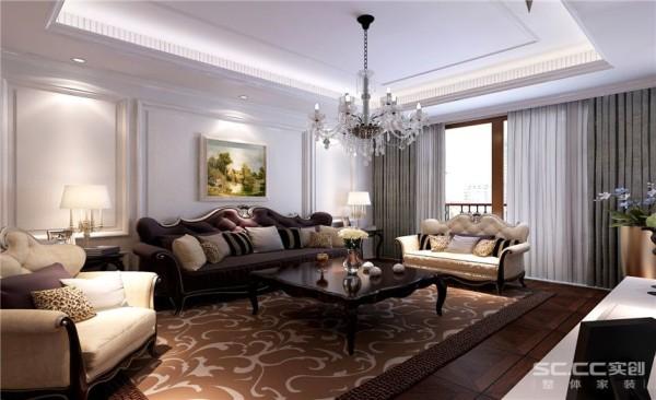 客厅设计: 客厅墙面整体采用白色的护墙板,考虑到房主是两位老人,所以选用了地板,舒适性比较高