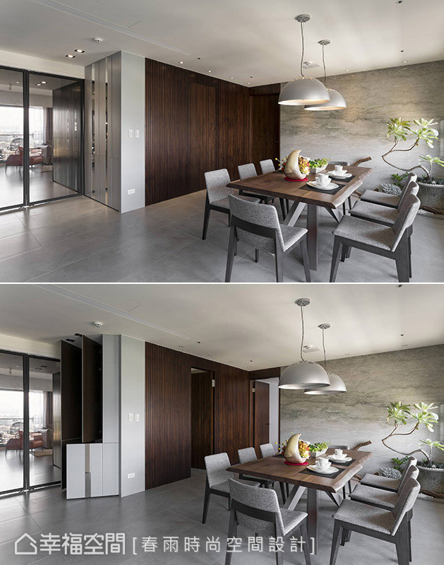 餐厅图片来自幸福空间在客变规划198平三拼宅的分享