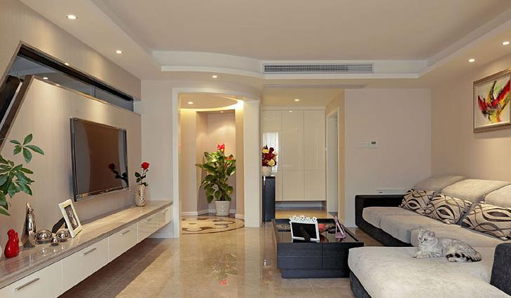 港式 婚房 白领 浪漫情怀 客厅图片来自佰辰生活装饰在162平港式跃层 浪漫二人世界的分享