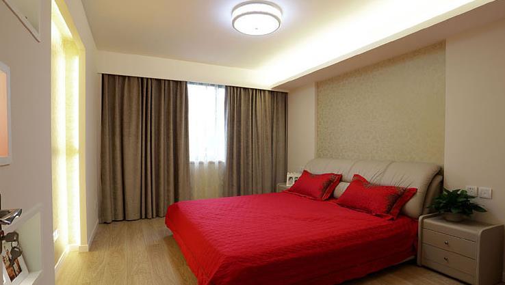 港式 婚房 白领 浪漫情怀 卧室图片来自佰辰生活装饰在162平港式跃层 浪漫二人世界的分享