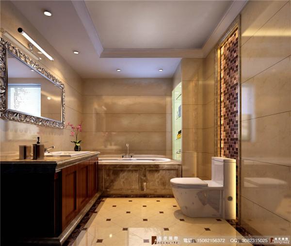 保利百合卫生间细节效果图--成都高度国际装饰设计