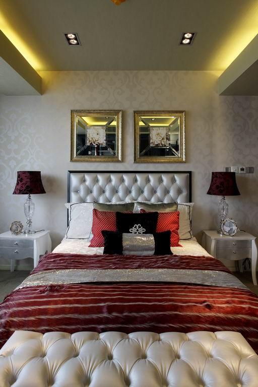 卧室的设计简单、大方,看起来大气、美观。