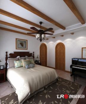 乡村 田园 混搭 四居室 温馨 卧室图片来自朗润装饰工程有限公司在光明城市 乡村田园风格的分享