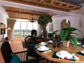 乡村 田园 混搭 四居室 温馨 餐厅图片来自朗润装饰工程有限公司在光明城市 乡村田园风格的分享