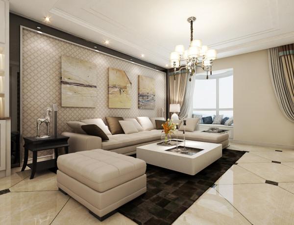 本案设计主要体现业主的时尚,低调,有一点奢华要求,业主主要注重舒适,环保 ,简单明亮整天,的色调偏暖色,空间更加温馨