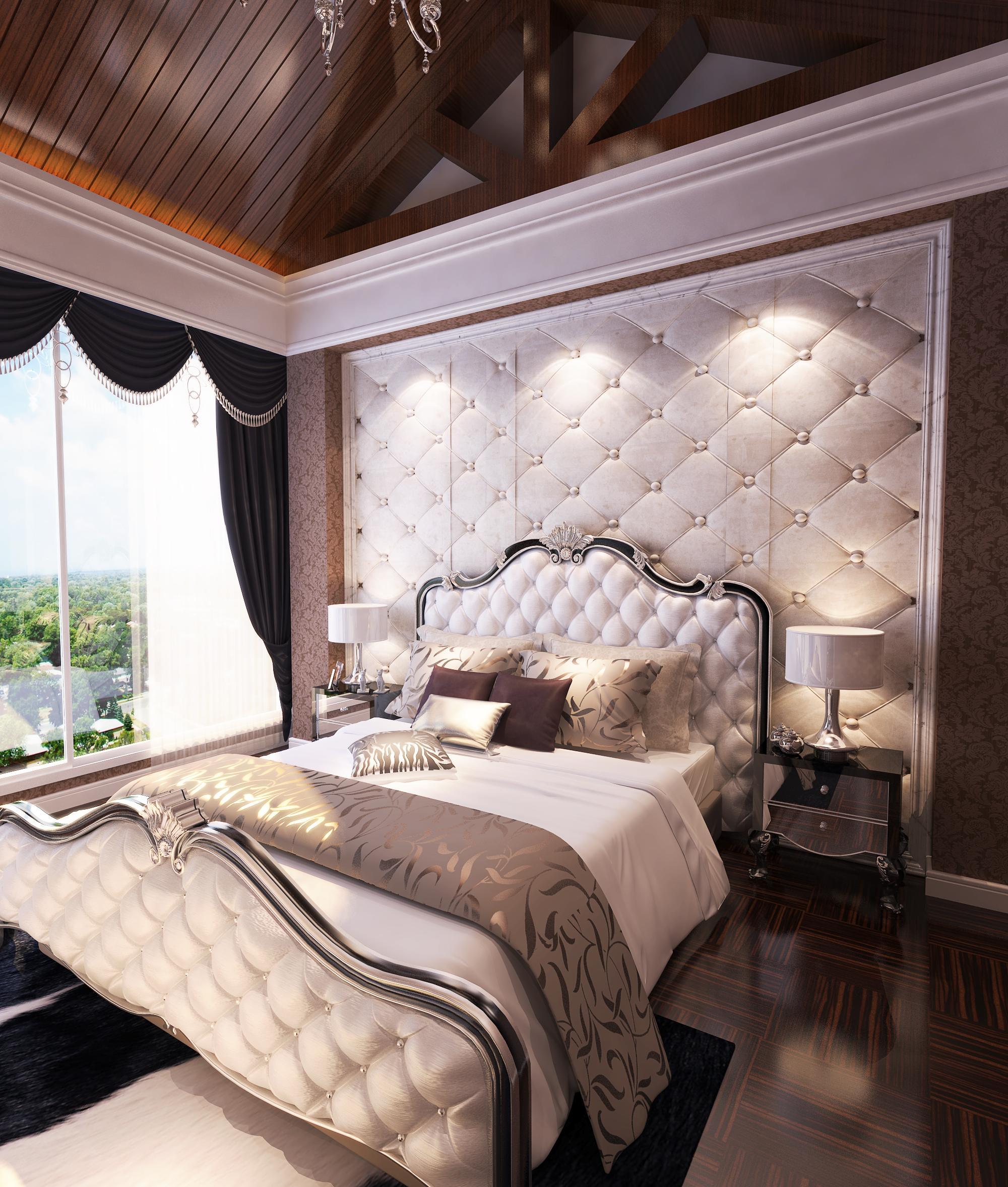 欧式 混搭 卧室图片来自Rebecca852在现代与欧式混搭-滨海琴墅的分享
