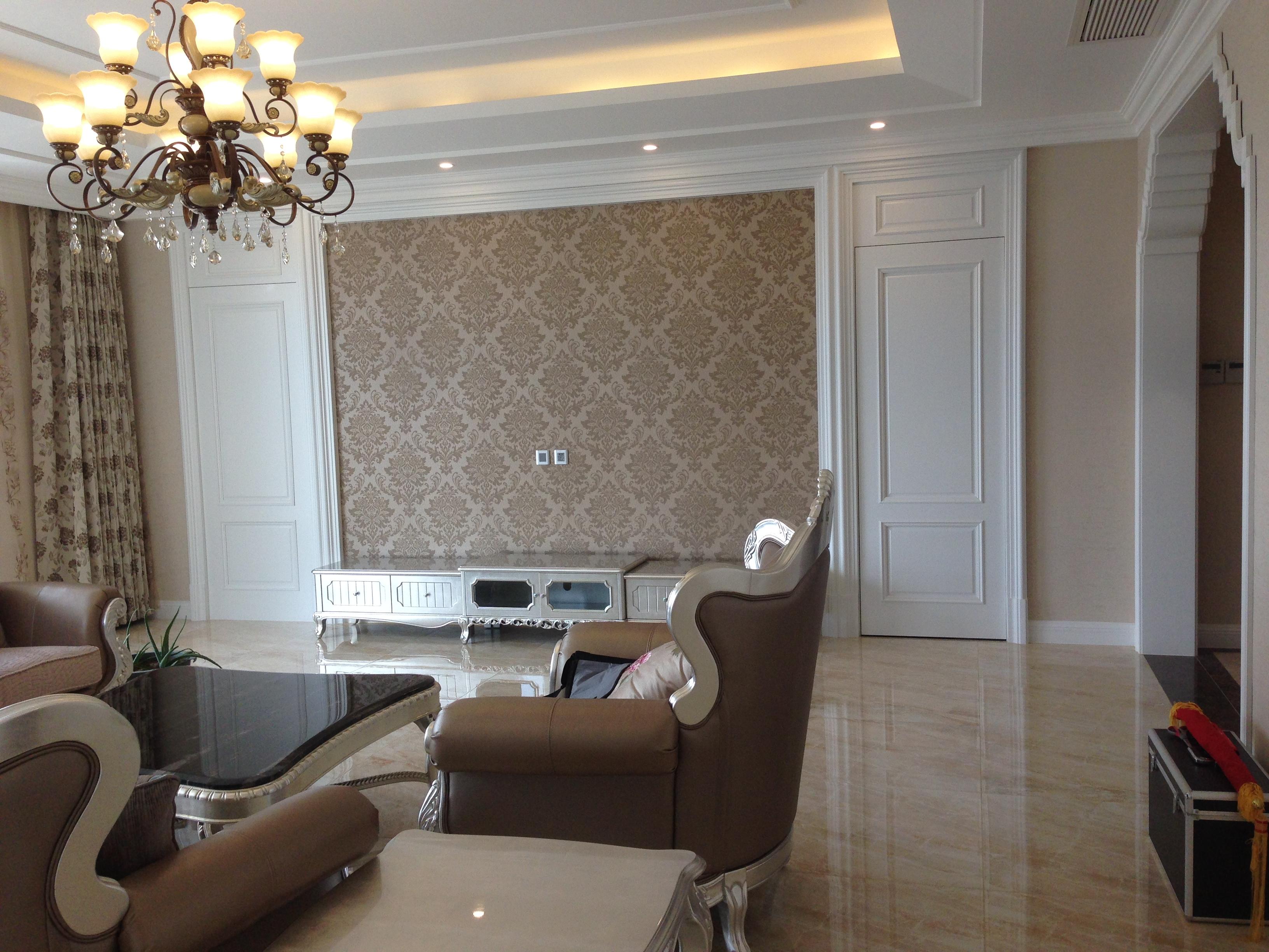 欧式 三居 客厅图片来自Rebecca852在欧式风格-王府壹号竣工实景的分享