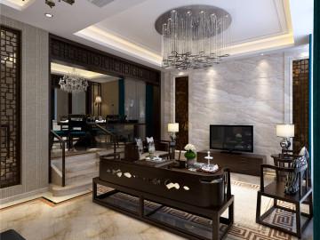 别墅装修新中式风格案例赏析